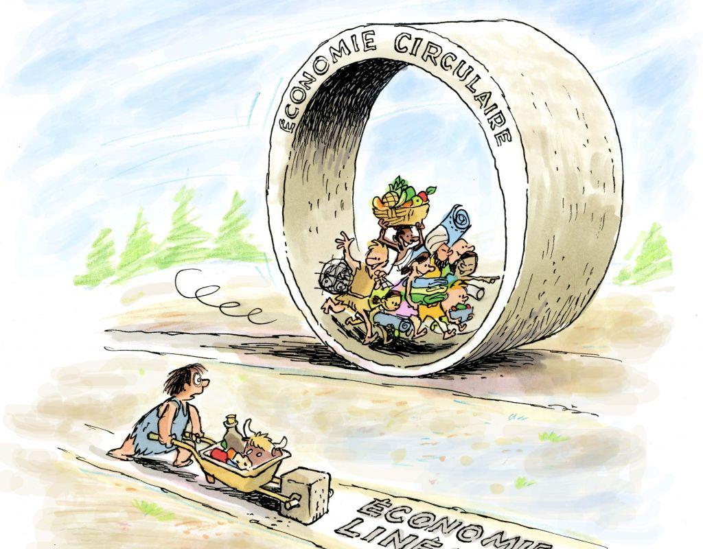 La vampirisation de l'économie circulaire