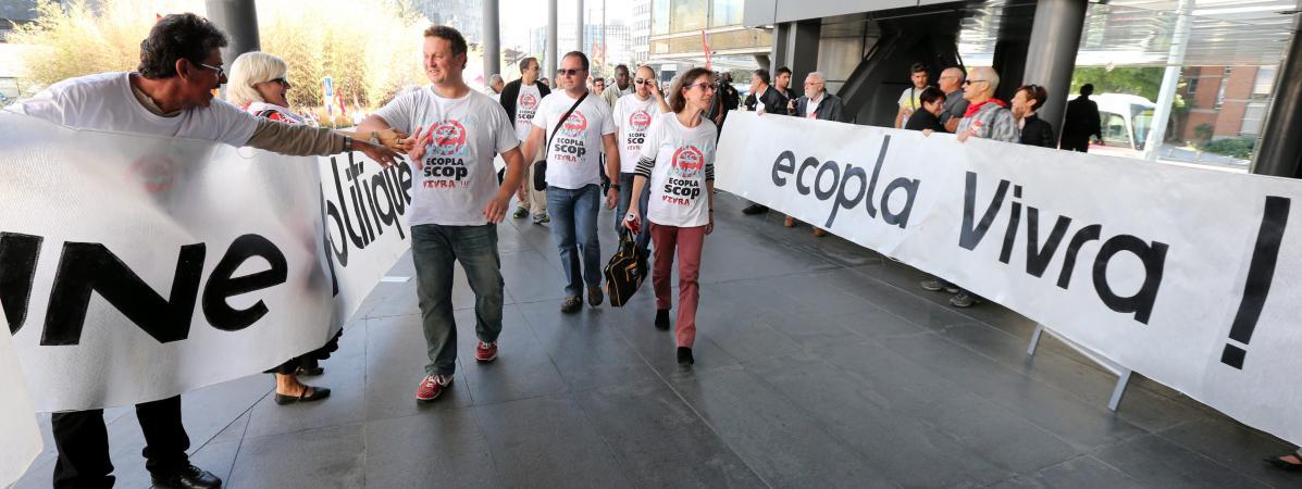 ECOPLA : Une petite usine d'irréductibles ouvriers résiste encore et toujours à l'envahisseur