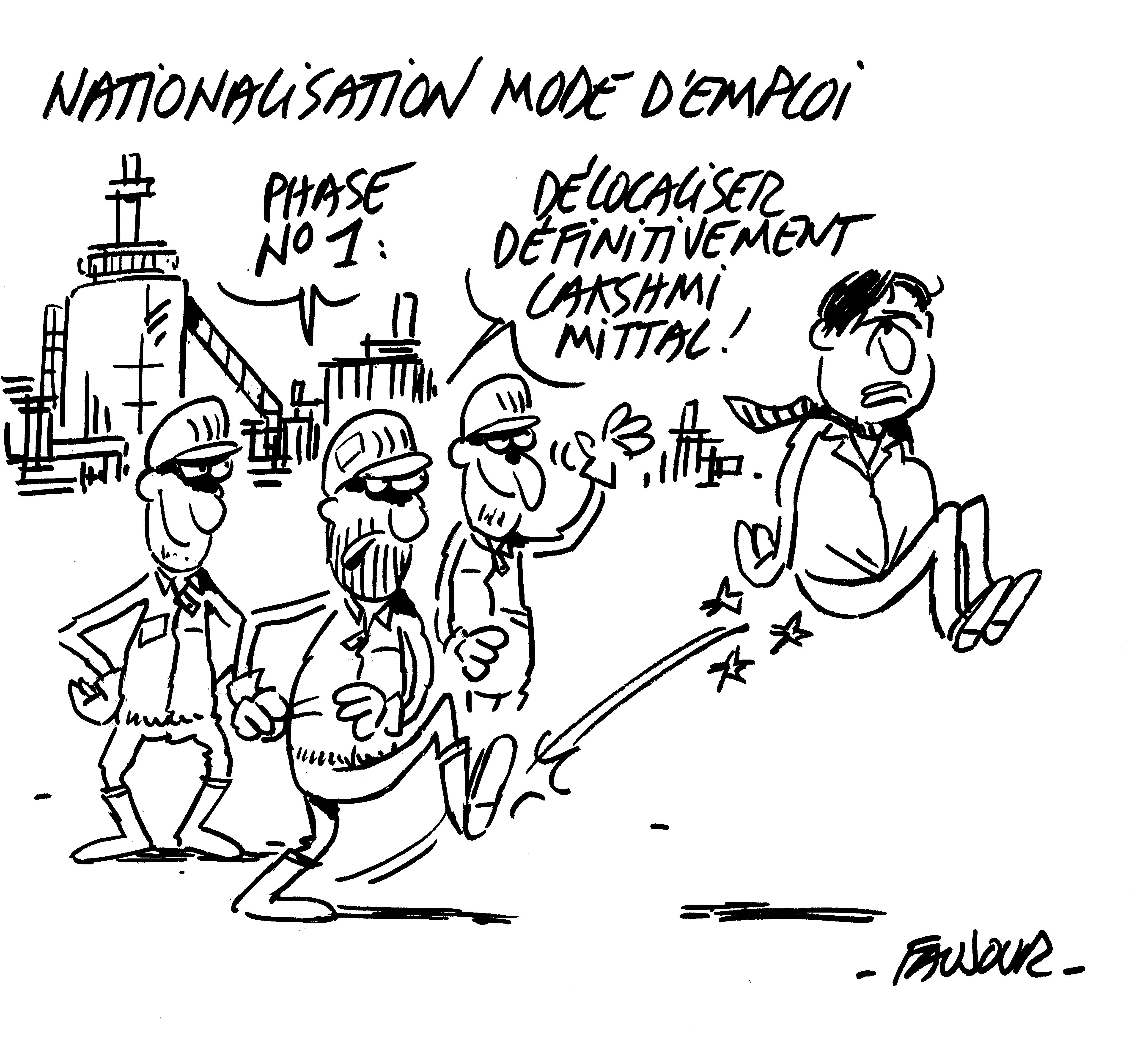 Nationalisons pour rétablir la souveraineté et réduire le chômage