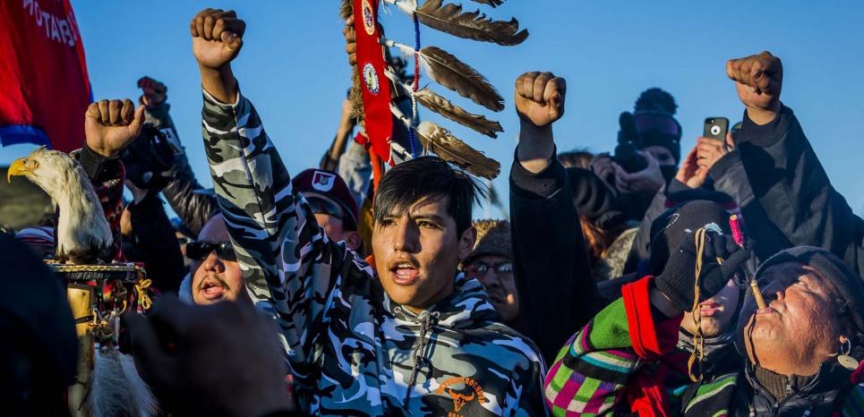 Au Dakota, le combat des Sioux, le combat de tous
