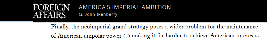 Grande stratégie impériale