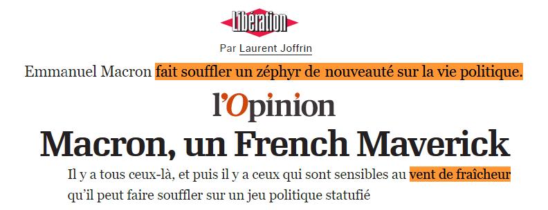 Macron - changement II