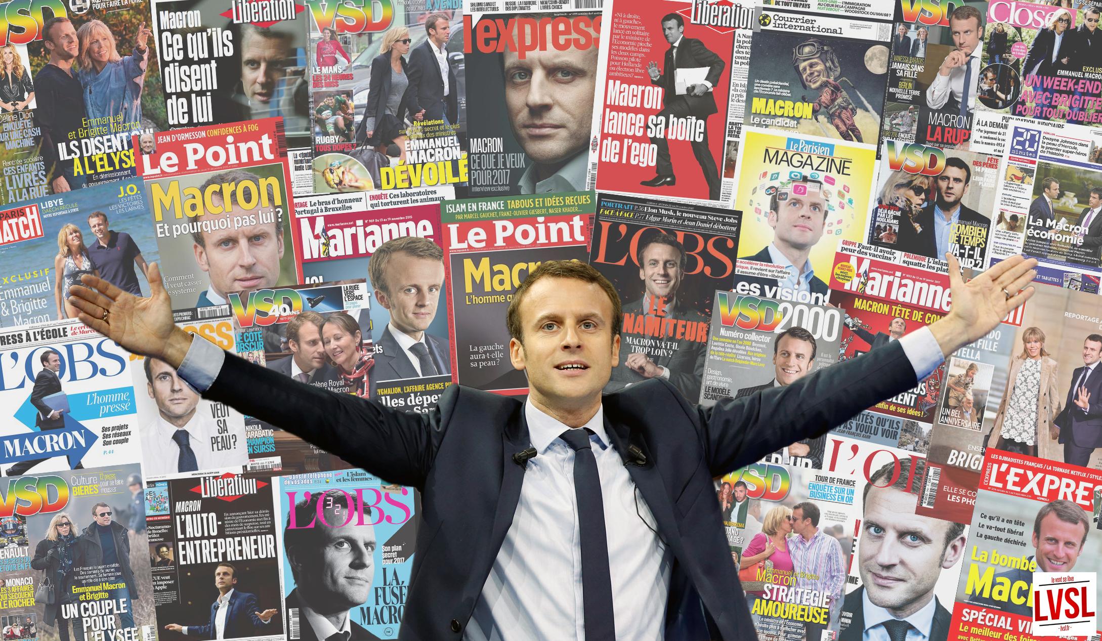 Comment les médias ont fabriqué le candidat Macron
