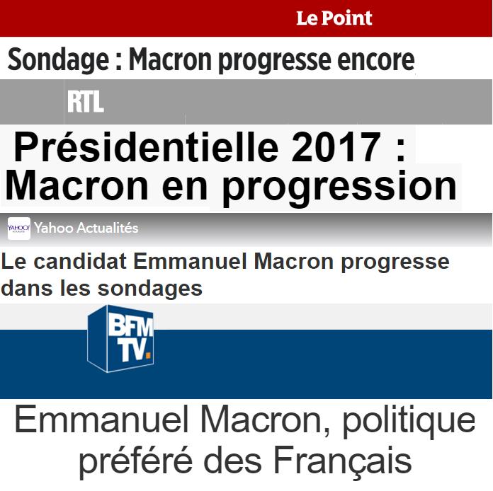 Macron -progrès