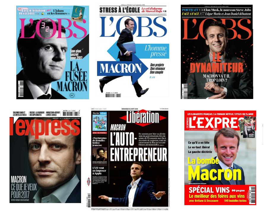 Macron succès