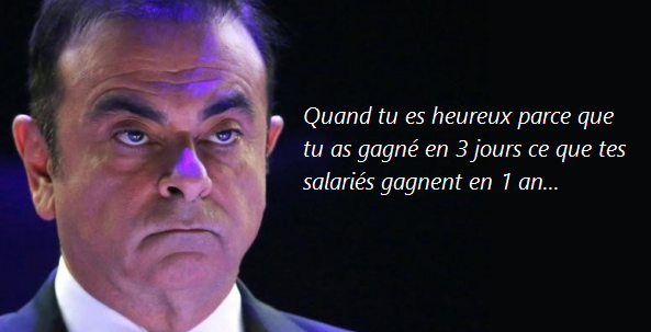 Goodyear, Carlos Ghosn, ventes d'armes… les 10 infos qu'il ne fallait pas rater, par LVSL