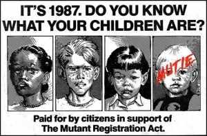 Image tirée d'un comic de 1987