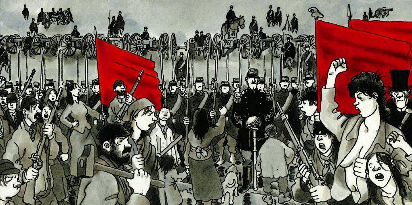 La Commune de Paris, révolution démocratique et sociale écrasée dans le sang