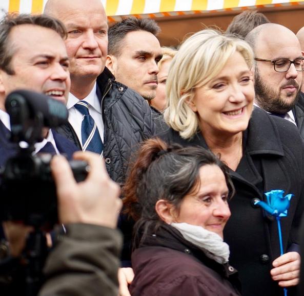 Marine Le Pen et les «oubliés»