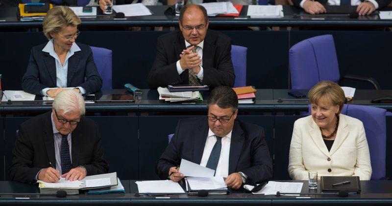 https://commons.wikimedia.org/wiki/File:Angela_Merkel,_Sigmar_Gabriel,_Frank-Walter_Steinmeier,_Christian_Schmidt,_Ursula_von_der_Leyen_(Tobias_Koch).jpg