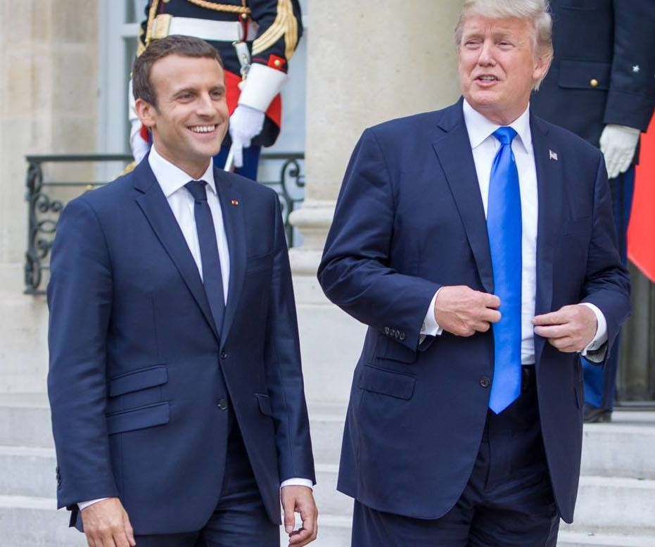 Trump, La Fayette et le 14 Juillet
