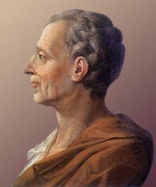 Portrait de Montesquieu