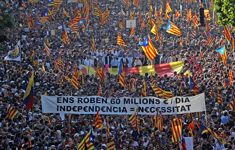 Catalogne : retour sur une journée de violences