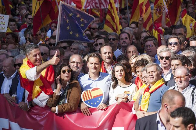 Immersion dans une manifestation de droite en Espagne