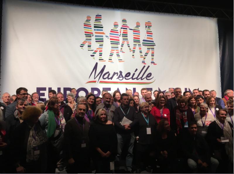 Les gauches européennes tentent de convergerà Marseille