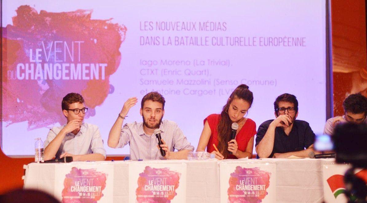 Les nouveaux médias dans la bataille culturelle européenne