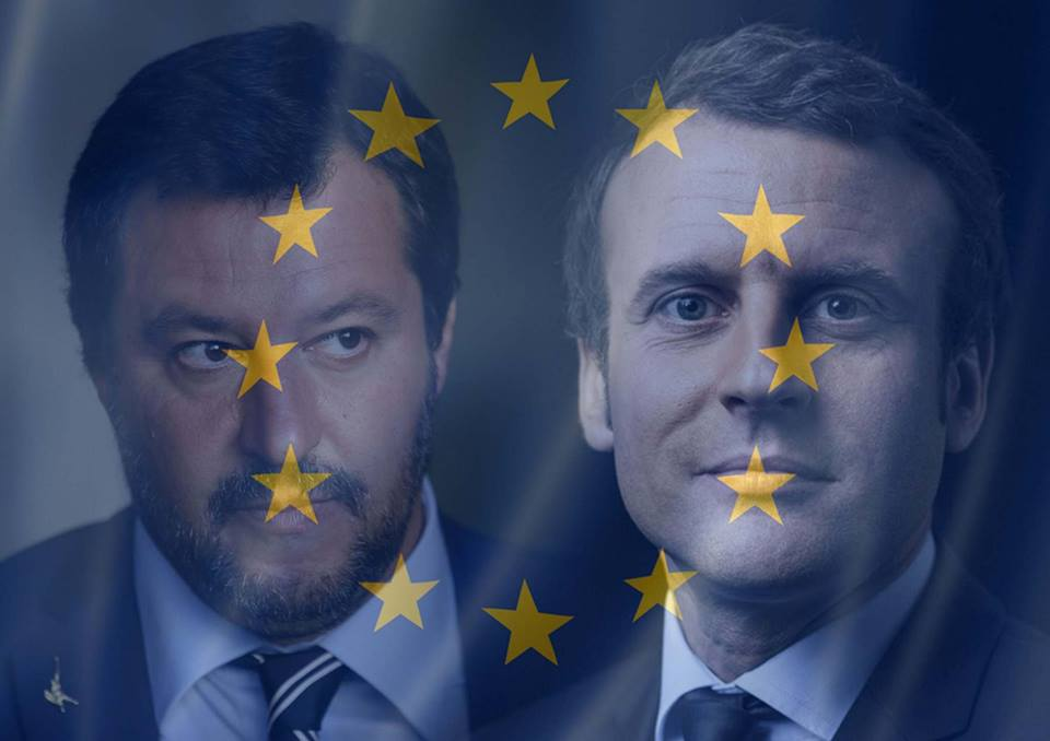 Qui est Emmanuel Macron ? - Page 19 Macron-salvini
