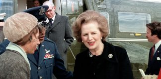 https://commons.wikimedia.org/wiki/File:Margaret_Thatcher_near_helicopter.jpg