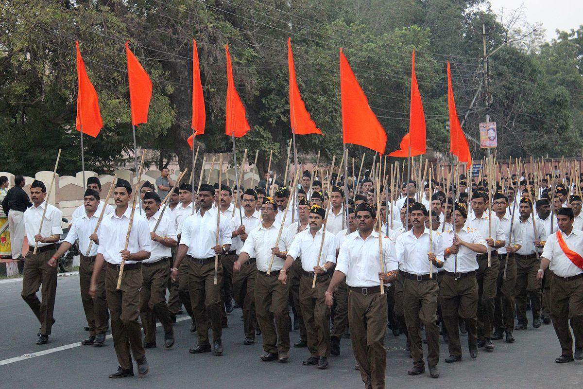 Manifestation du groupe RSS. ©Suyash Dwivedi