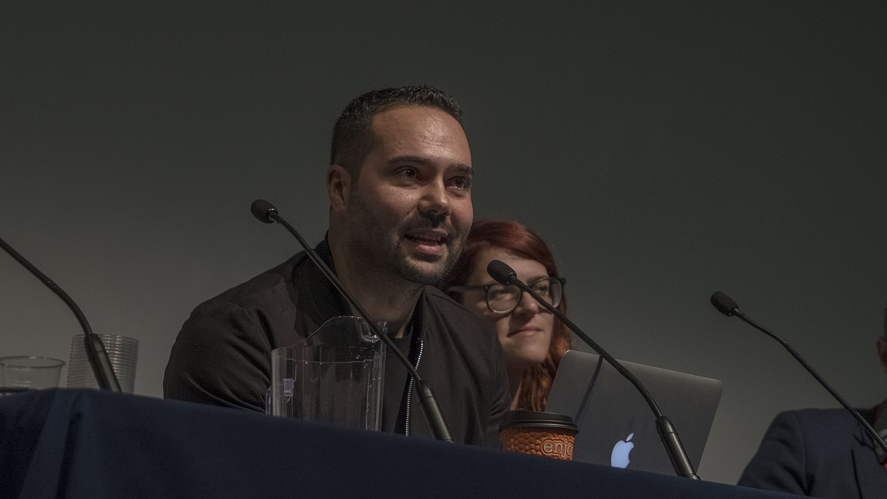 https://commons.wikimedia.org/wiki/File:Aaron_Bastani,_The_World_Transformed.jpg