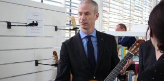 Franck Riester, ministre de la Culture - Inauguration Les 7 lieux à Bayeux