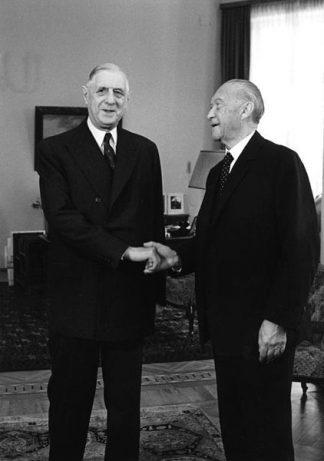 De Gaulle - Adenauer