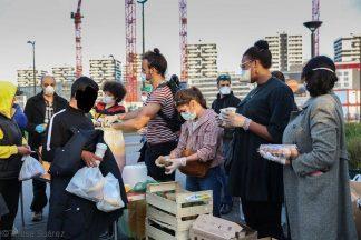 Distribution Solidarité Migrants Wilson