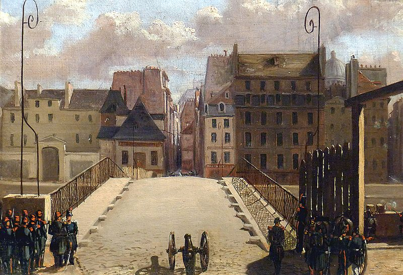 https://fr.wikipedia.org/wiki/Fichier:P1140359_Carnavalet_pont_de_l%27archevêché_en_1848_rwk.JPG