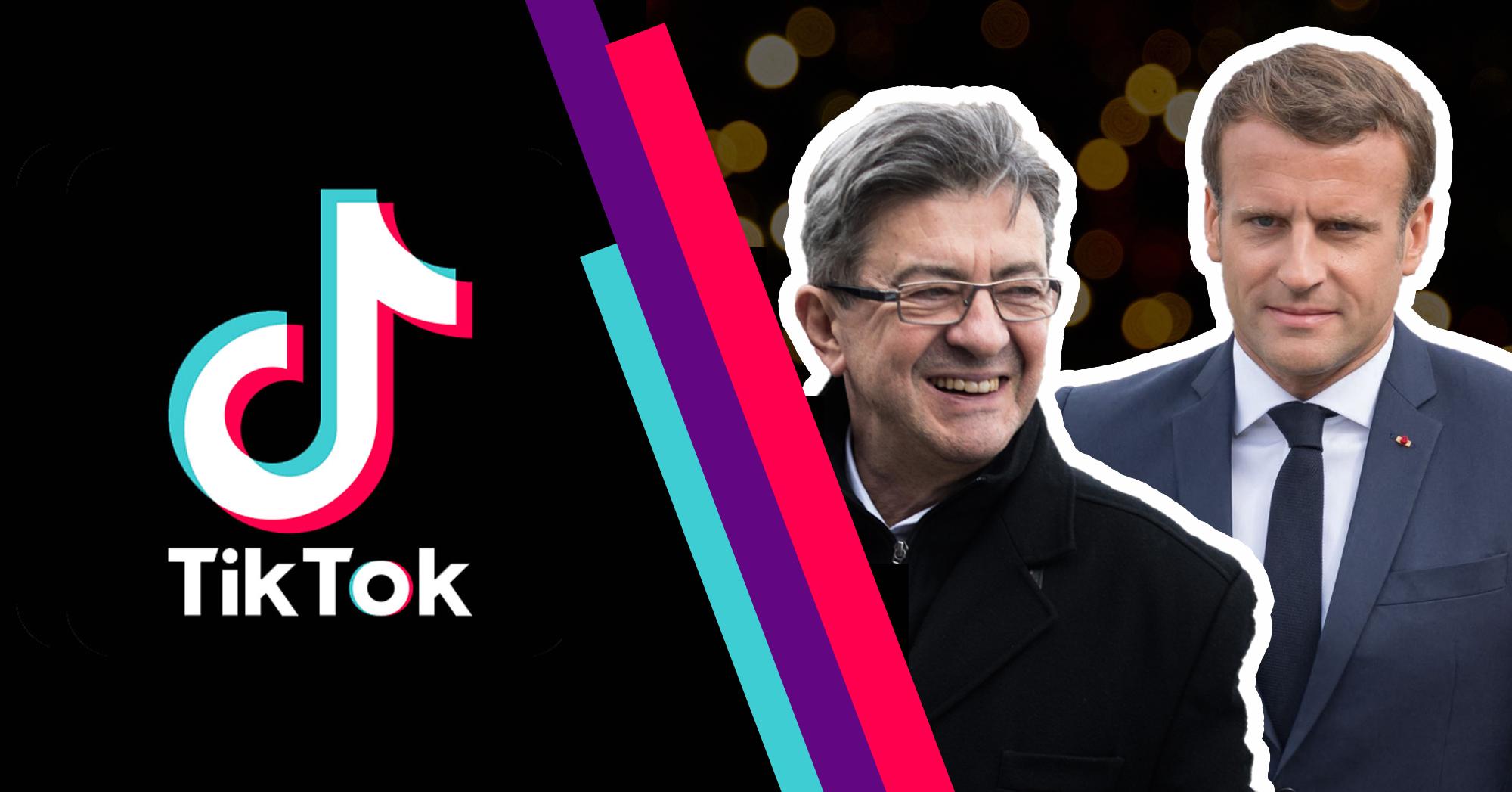 TikTok - Mélenchon Macron