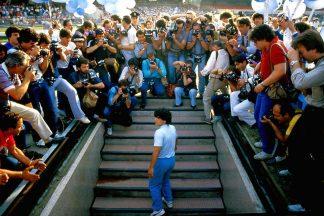 Maradona présentation Napoli