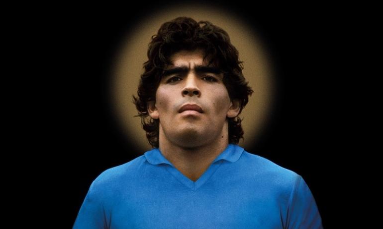 Diego Maradona auréole saint