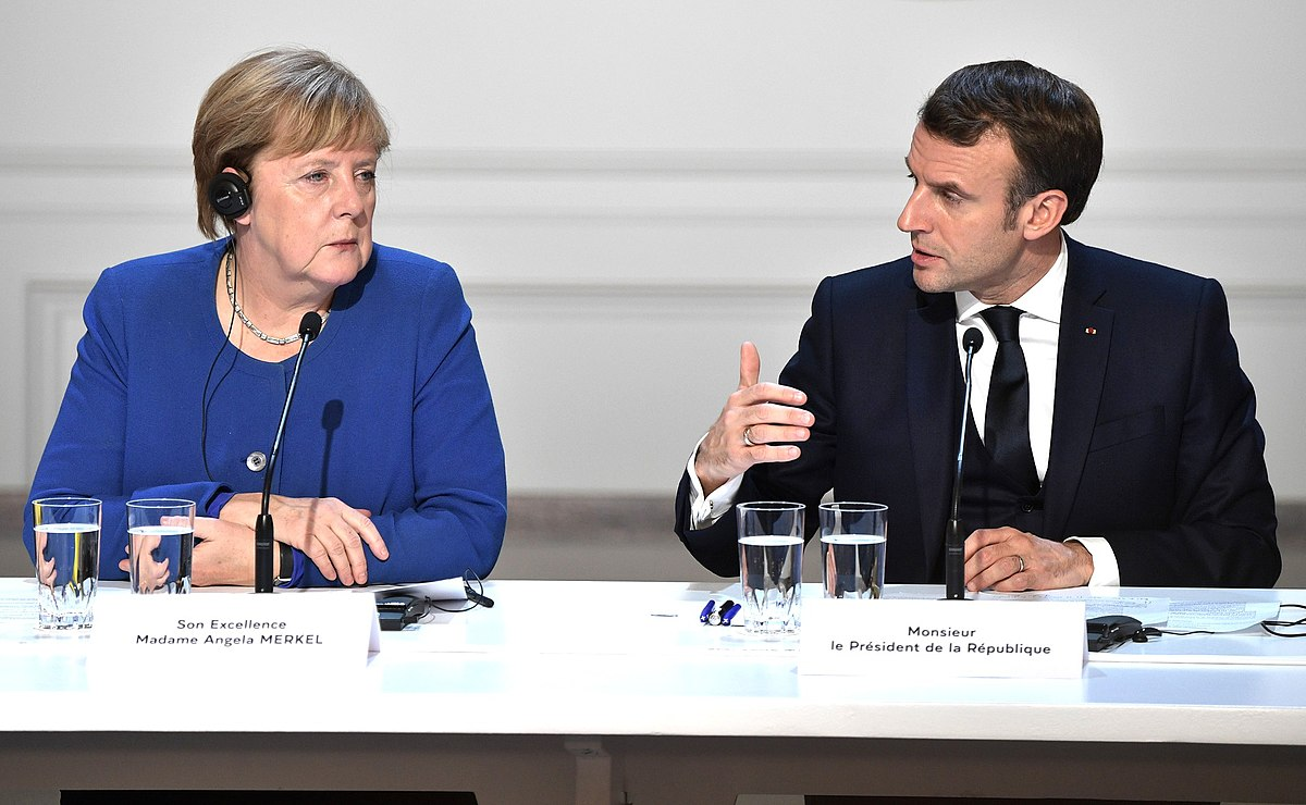 https://commons.wikimedia.org/wiki/File:Emmanuel_Macron_and_Angela_Merkel_(2019-12-10).jpg