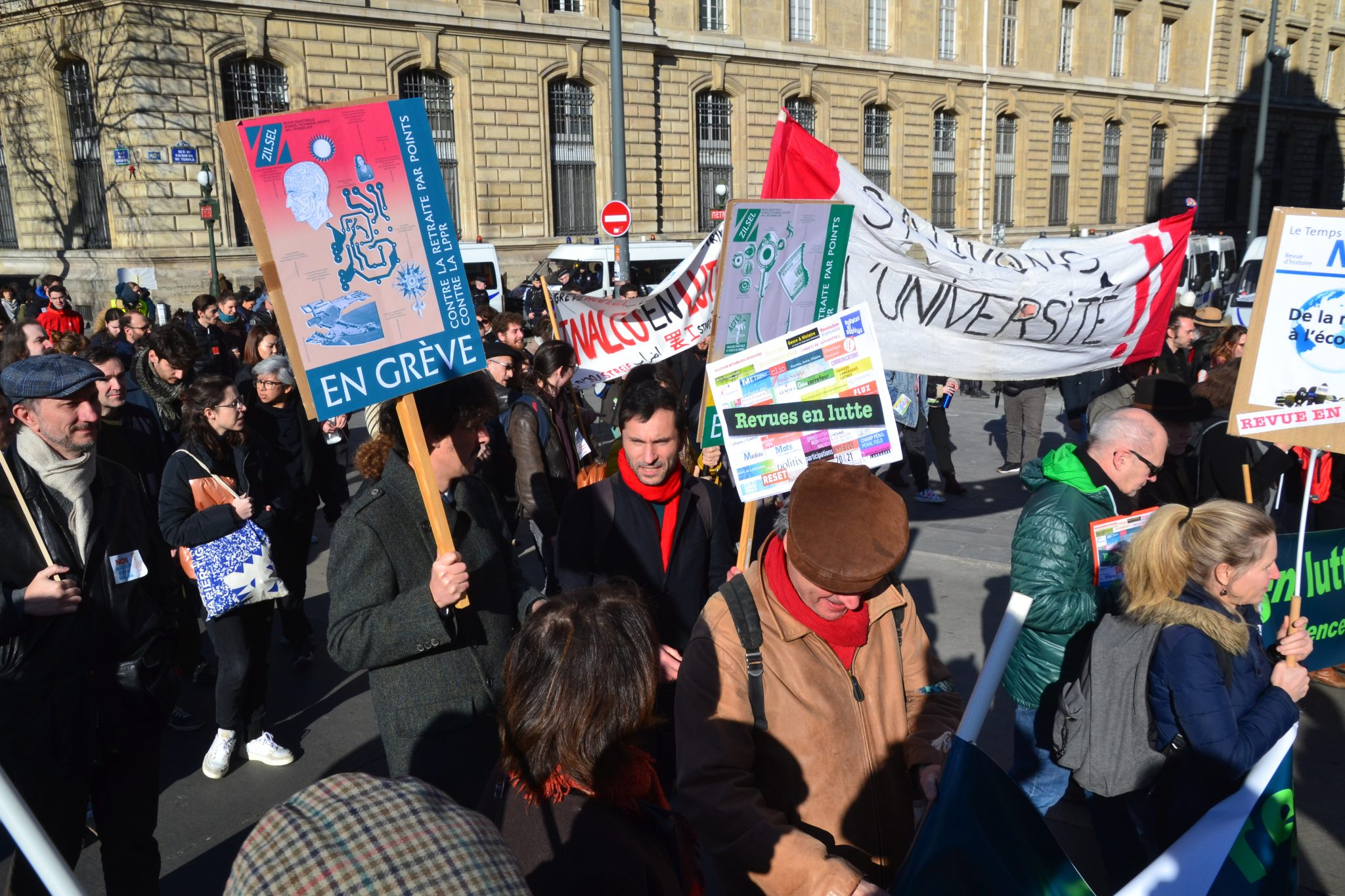Manifestation contre la L