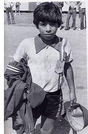 Maradona en 1970