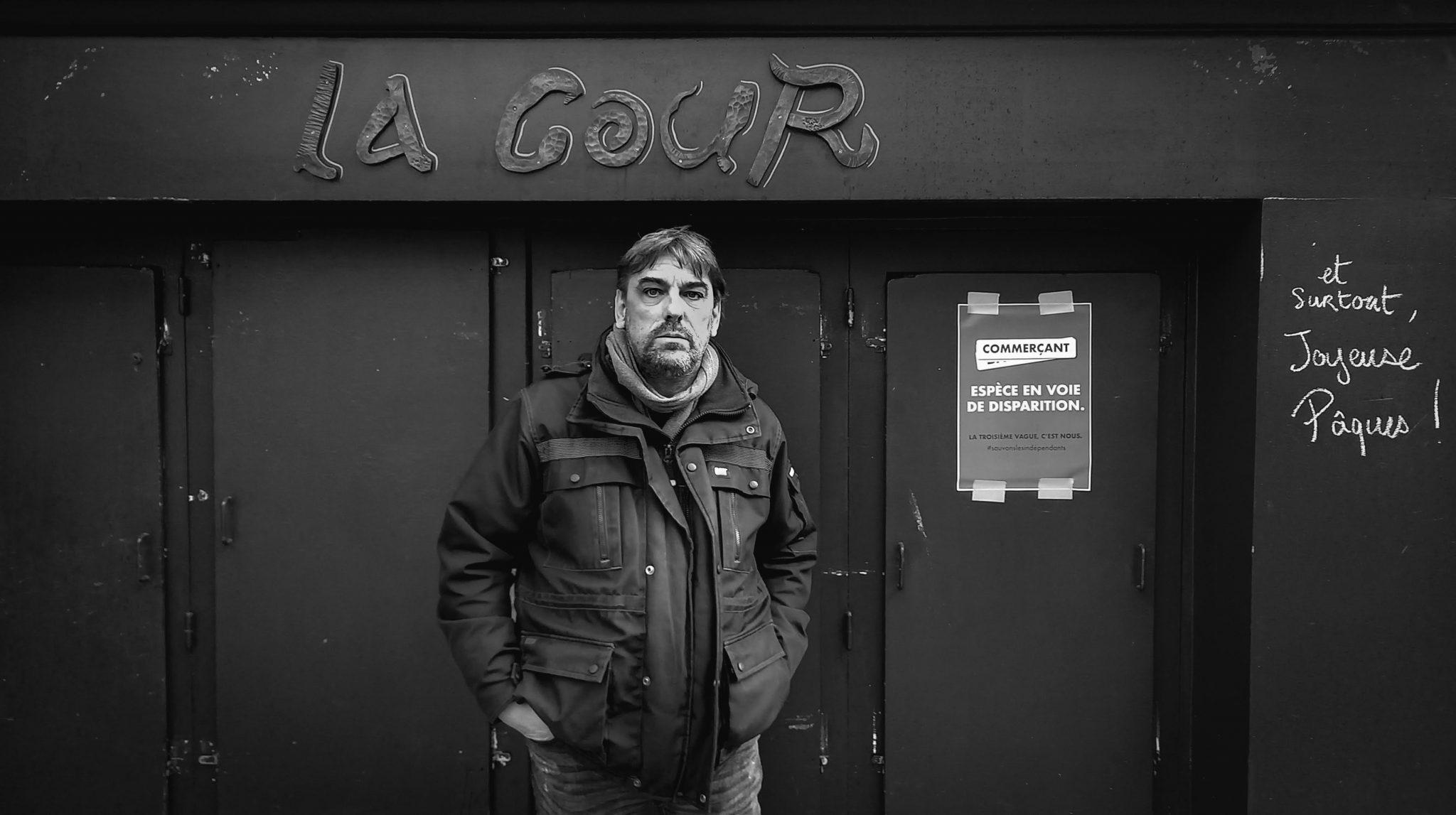Nicolas FILY - 8 décembre 2020. Crédit photo : Erwan Le Moigne