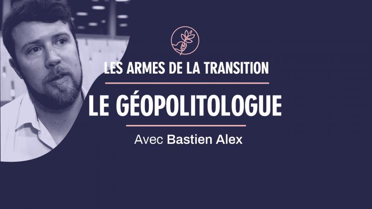 Bastien Alex est invité aux armes de la transition