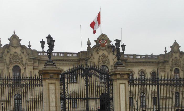 Palais présidentiel au Pérou